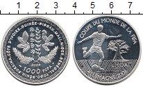 Изображение Монеты КФА 1000 франков 2004 Серебро Proof- Чемпионат Мира по фу