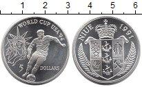 Изображение Монеты Новая Зеландия Ниуэ 5 долларов 1991 Серебро Proof