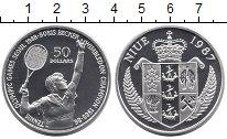 Изображение Монеты Новая Зеландия Ниуэ 50 долларов 1987 Серебро Proof