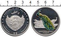 Изображение Монеты Палау 5 долларов 2009 Серебро Proof Павлин