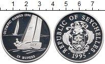 Изображение Монеты Африка Сейшелы 25 рупий 1995 Серебро Proof
