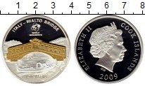 Изображение Монеты Острова Кука 10 долларов 2009 Серебро Proof