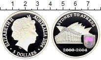 Изображение Монеты Австралия и Океания Австралия 5 долларов 2004 Серебро Proof