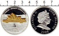 Изображение Монеты Острова Кука 10 долларов 2008 Серебро Proof- Мировая архитектура
