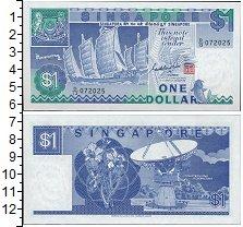 Изображение Банкноты Азия Сингапур 1 доллар 1987  UNC-