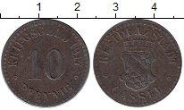 Изображение Монеты Германия : Нотгельды 10 пфеннигов 1917 Железо XF