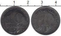 Изображение Монеты Германия : Нотгельды 10 пфеннигов 1919 Железо XF Мангейм