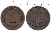 Изображение Дешевые монеты Европа Германия 1 пфенниг 1912 Медь VF