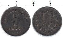Изображение Дешевые монеты Германия 5 пфеннигов 1918 Железо VF