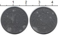 Изображение Дешевые монеты Германия 10 пфеннигов 1922 Цинк VF