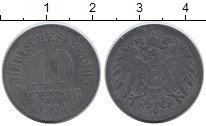 Изображение Дешевые монеты Европа Германия 10 пфеннигов 1921 Цинк VF
