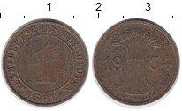 Изображение Дешевые монеты Европа Германия 1 пфенниг 1934 Медь VF
