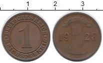 Изображение Дешевые монеты Европа Германия 1 пфенниг 1928 Медь VF