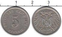 Изображение Дешевые монеты Европа Германия 5 пфеннигов 1914 Медно-никель VF