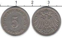 Изображение Дешевые монеты Европа Германия 5 пфеннигов 1911 Медно-никель VF