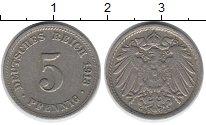 Изображение Дешевые монеты Германия 5 пфеннигов 1913 Медно-никель VF