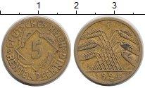 Изображение Дешевые монеты Германия 5 пфеннигов 1926 Бронза VF