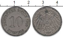 Изображение Дешевые монеты Европа Германия 10 пфеннигов 1907 Медно-никель VF