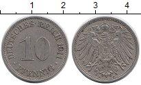 Изображение Дешевые монеты Германия 10 пфеннигов 1911 Медно-никель VF
