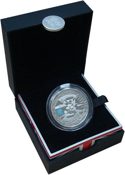 Изображение Подарочные монеты Европа Великобритания 5 фунтов 2009 Серебро Proof-