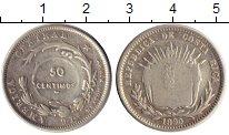 Изображение Монеты Северная Америка Коста-Рика 50 сентим 1890 Серебро VF