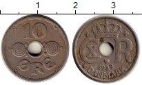 Изображение Монеты Европа Дания 10 эре 1929 Медно-никель VF