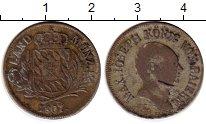 Изображение Монеты Бавария 6 крейцеров 1807 Серебро VF