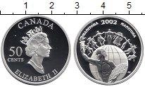 Изображение Монеты Северная Америка Канада 50 центов 2002 Серебро Proof