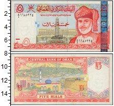Изображение Банкноты Оман 5 риалов 2000  UNC-