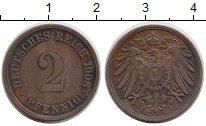 Изображение Монеты Европа Германия 2 пфеннига 1908 Медь XF