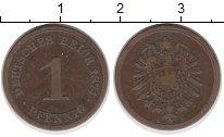 Изображение Монеты Германия 1 пфенниг 1874 Медь XF E