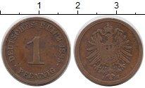 Изображение Монеты Европа Германия 1 пфенниг 1885 Медь XF