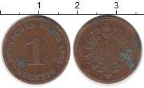 Изображение Монеты Германия 1 пфенниг 1886 Медь XF
