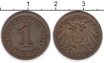 Изображение Монеты Германия 1 пфенниг 1895 Медь XF E