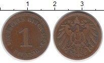 Изображение Монеты Германия 1 пфенниг 1890 Медь XF