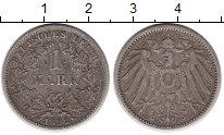 Изображение Монеты Европа Германия 1 марка 1892 Серебро XF