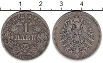 Изображение Монеты Европа Германия 1 марка 1878 Серебро XF