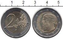Изображение Монеты Европа Греция 2 евро 2013 Биметалл XF