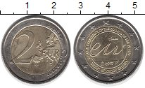 Изображение Монеты Европа Бельгия 2 евро 2010 Биметалл UNC-