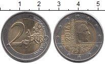 Изображение Монеты Люксембург 2 евро 2014 Биметалл UNC- 175-летие независимо