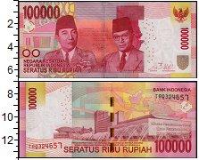 Изображение Банкноты Индонезия 100000 рупий 2014  UNC