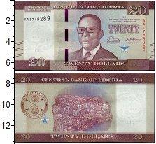 Изображение Банкноты Либерия 20 долларов 2016  UNC