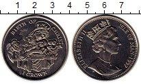Изображение Монеты Остров Мэн 1 крона 1997 Медно-никель UNC-