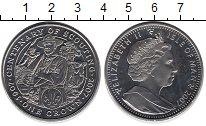 Изображение Монеты Остров Мэн 1 крона 2007 Медно-никель UNC- 100 лет скаутского д