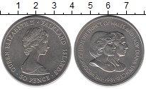 Изображение Монеты Фолклендские острова 50 пенсов 1981 Медно-никель UNC-