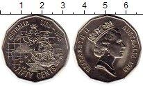 Изображение Мелочь Австралия 50 центов 1988 Медно-никель UNC-