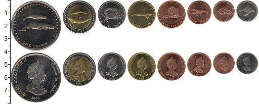 Изображение Наборы монет Великобритания Тристан-да-Кунья Тристан-да-Кунья 2008 2008  UNC-