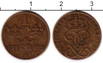 Изображение Монеты Швеция 1 эре 1941 Бронза XF Густав V