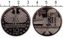 Изображение Монеты Европа Германия 10 евро 2011 Медно-никель Proof-