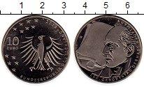 Изображение Монеты Германия 10 евро 2012 Медно-никель Proof- 150 - летие  Герхарт